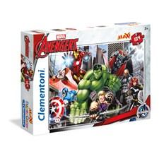 Puslespill Maxi Avengers, 104 brikker, Clementoni