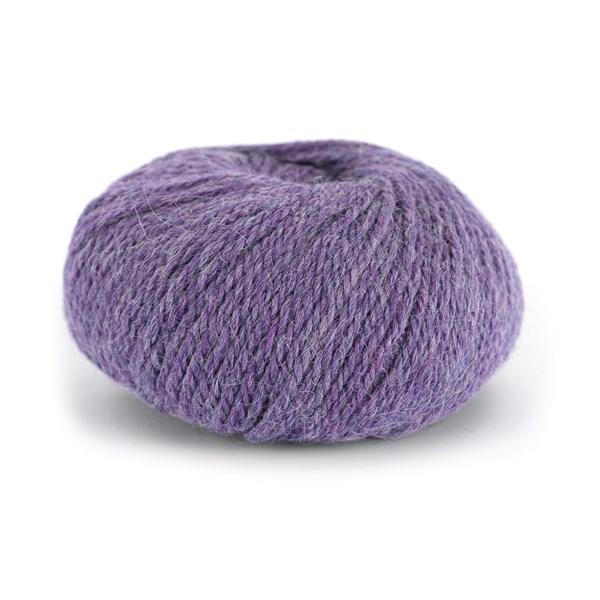 Knit At Home Chunky Alpaca Wool Ullmix 50 g Lilla Melert 622