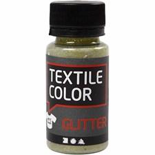 Bas till Textilfärg 50 ml Lime Glitter
