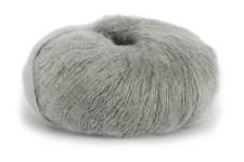 Dale Garn Erle Silk Mohair Mix 50 g Ljus Grå 3502