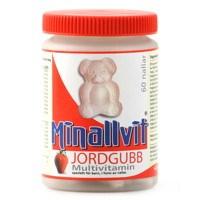 Minallvit Multivitamin Jordgubb, 60 tabletter