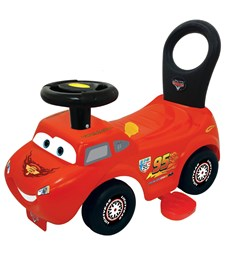 Cars McQueen, Activity Ride On, 2-in-1