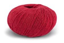 Knit At Home Classic Alpaca Wool Garn Ullmix 50 g Dyprød 516