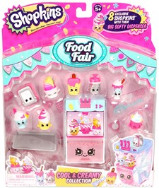 Cool & Creamy Collection, Food Fair, Shopkins