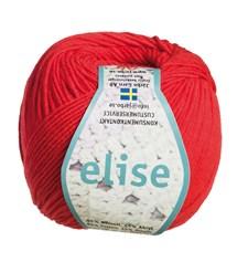 Elise Garn Bomullsmix 50g Röd (69206)