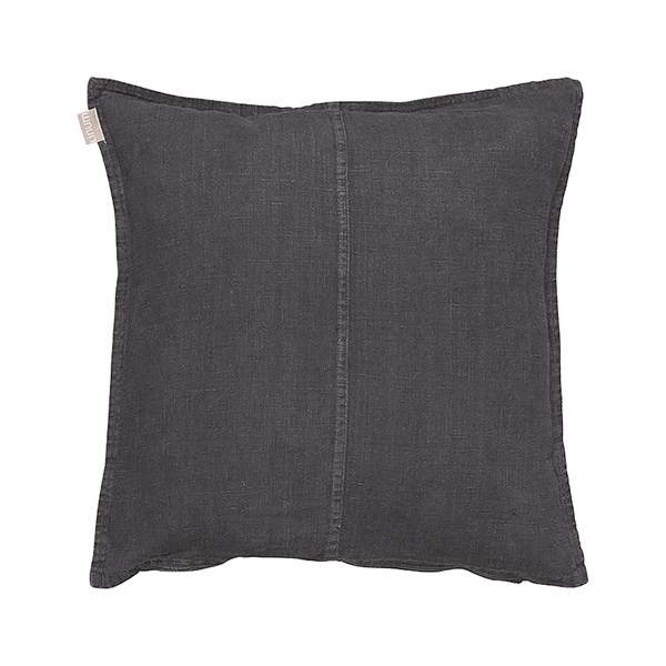Linum West Kuddfodral 100% Linne 50 x 50 cm Granite grå
