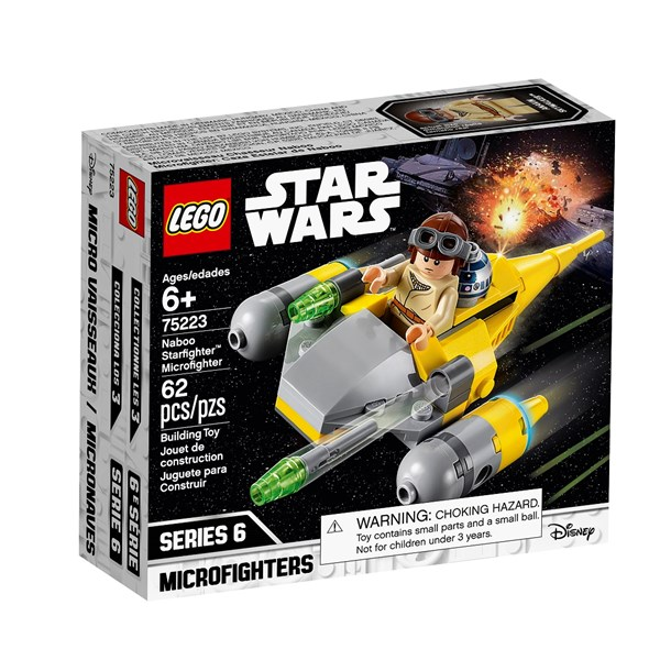 Naboo Starfighter Microfighter  LEGO Star Wars (75223)  Lego