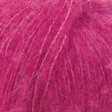 Drops Brushed Alpaca Silk Uni Colour Garn 25 g cerise 18