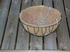 Cocosinsats 40 cm Rund