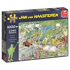Jan van Haasteren, The film set, Pussel 1000 bitar
