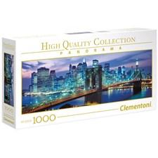 Puslespill Panorama Brooklyn Bridge, 1000 brikker, Clementoni