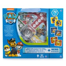 Paw Patrol Pop Up och Memory, Spel