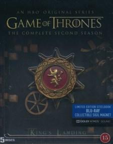 Game of Thrones - Säsong 2: Steelbook   Dolby Atmos (Blu-ray)