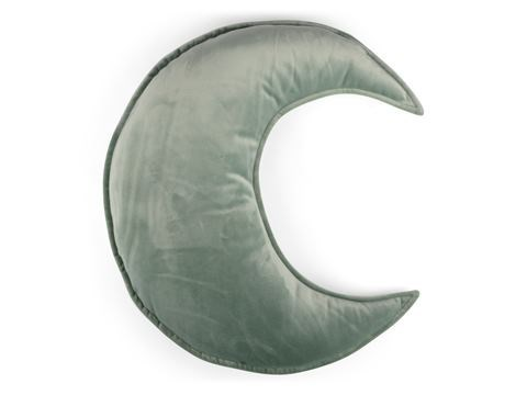 Kudde Sammet Måne  Grön  Form Living - barnplädar & kuddar