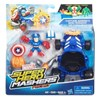 Super Hero Micro Vehicle & figure, Captain America, Avengers