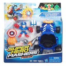 Avengers Super Hero Micro Vehicles & Figure Captain America