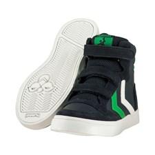 Stadil Leather Jr, Blå/Svart/Grön, Hummel