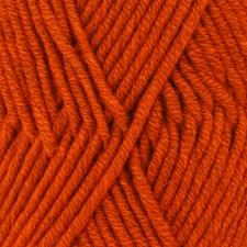 Drops Big Merino Mix Garn Ullgarn 50g Orange 15
