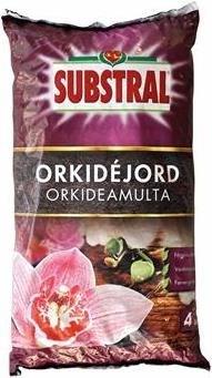 Orkidéjord- Substral 4 liter