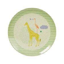 Tallrik Animal, Ljus mint, Rice