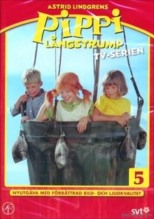 Pippi Långstrump - Tv-serien 5 (ballongfärd/är skeppsbruten)