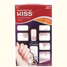 KISS Lösnaglar 100 Nails-Short Square