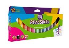 Paint Sticks Classic, 12 färger, Little Brian