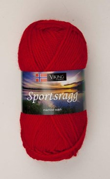Viking of Norway Sportsragg 50 gr Rød 565