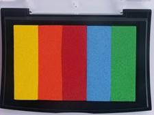 Stor stempelpute Rainbow Fiesta, 9 x 6 cm