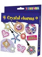 Pysselset kristallhalsband och berlocker Playbox
