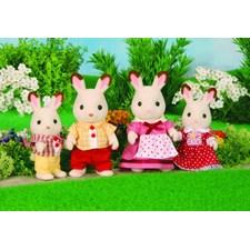 Chocolate Rabbit Family, kaninfamilie