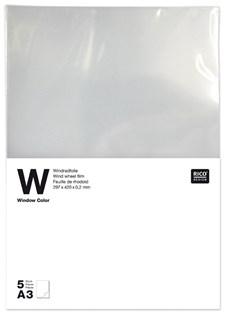 Vindusfilm, 0,2 mm, A3 1 stk