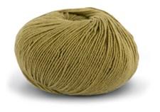 Knit At Home Superfine Baby Merino Ullgarn 50 g Lys Oliven 211