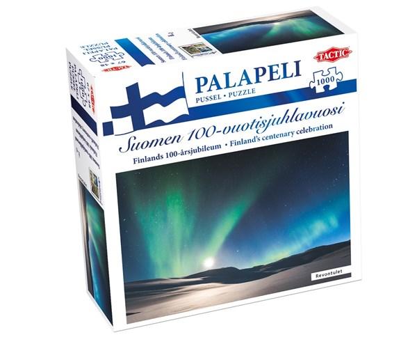 Suomi 100 palapeli, Revontulet, 1000 palaa