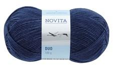 Novita Duo 100 g tummansininen 014