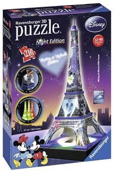 Disney Eiffeltorn, Pussel 216 bitar, Ravensburger