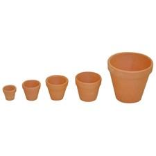 Terrakottakrukker, 10 stk., Ø 10 cm, Playbox