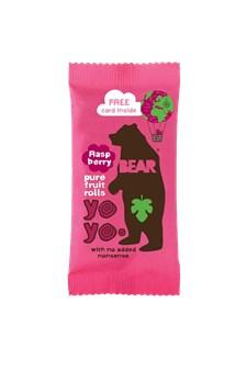 Bear Yoyos Fruktgodis Hallon 20 g