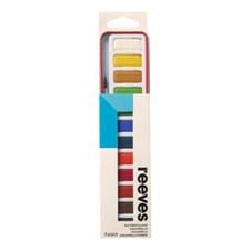 Akvarelllåda Reeves i metall 12 färger