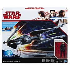 Star Wars E8 Class D Vehicle Kylo Ren´s Tie Silencer, Force Link