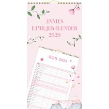 Burde Väggkalender 20-21 Annies Familjekalender