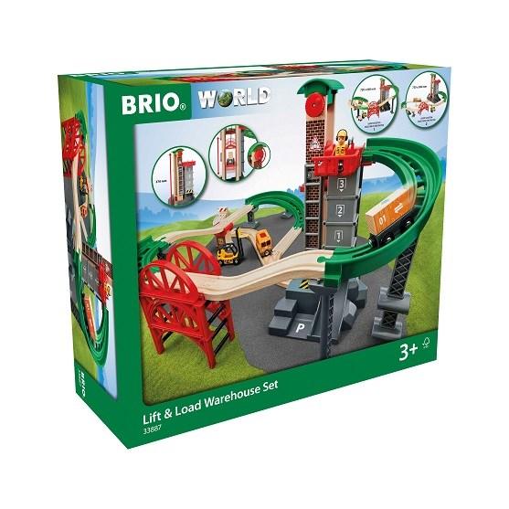 BRIO World - 33889 Guldgruva med kran  Brio - klossar & byggleksaker
