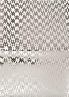 Decoupagepapper ZigZag Folierat Silver 1 Ark