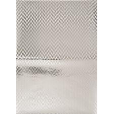 Decoupagepapir Sikk-Sakk Foliert Sølv 1 Ark