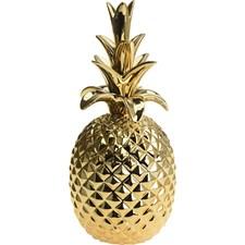 Ananas 32,5cm Guld