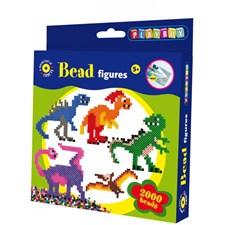 Perlesett, Dinosaurer, 2000 strykeperler, Playbox
