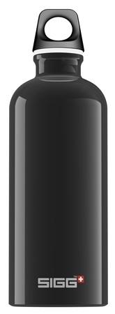 Drikkeflaske, Traveller, 0,6 L, Svart, SIGG