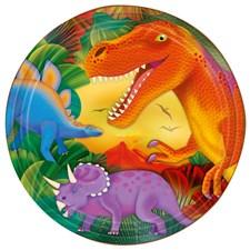 Dinosaurer, Tallerkener, 8 stk.