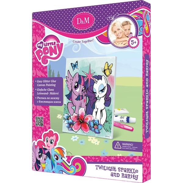 Måla din egen canvastavla, Twilight Sparkle, My Little Pony
