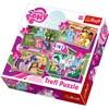 4-in-1 palapeli, My Little Pony, Trefl